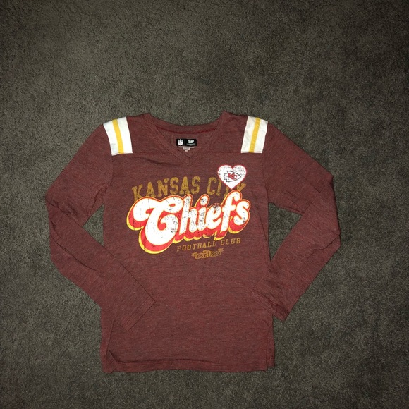 buy online 02b9b b322d GIRLS 10/12 KC CHIEFS NFL APPAREL